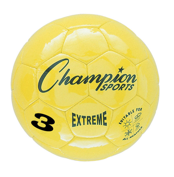 Extreme Soccer Ball  Size 3 Yellow