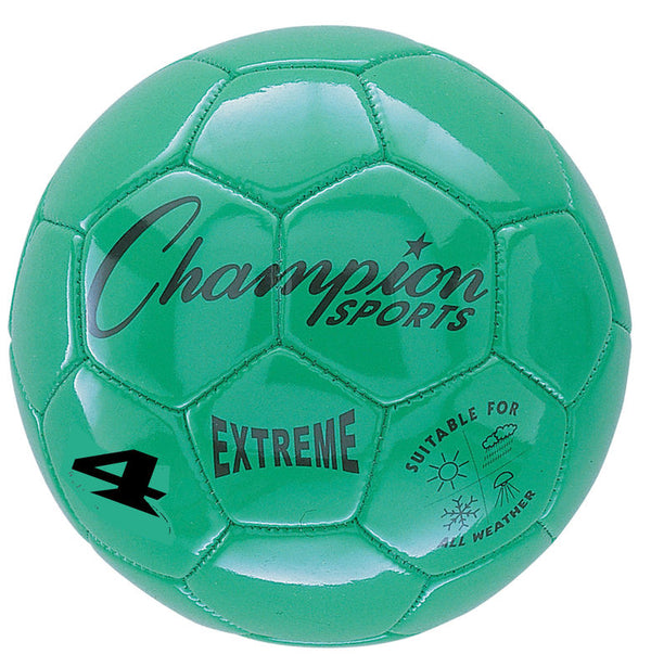 Extreme Soccer Ball  Size 4 Green