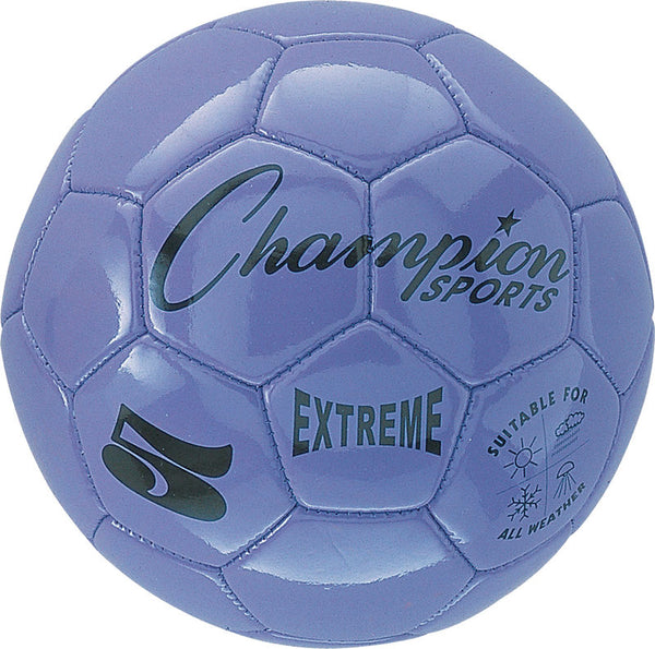 Extreme Soccer Ball  Size 5 Purple