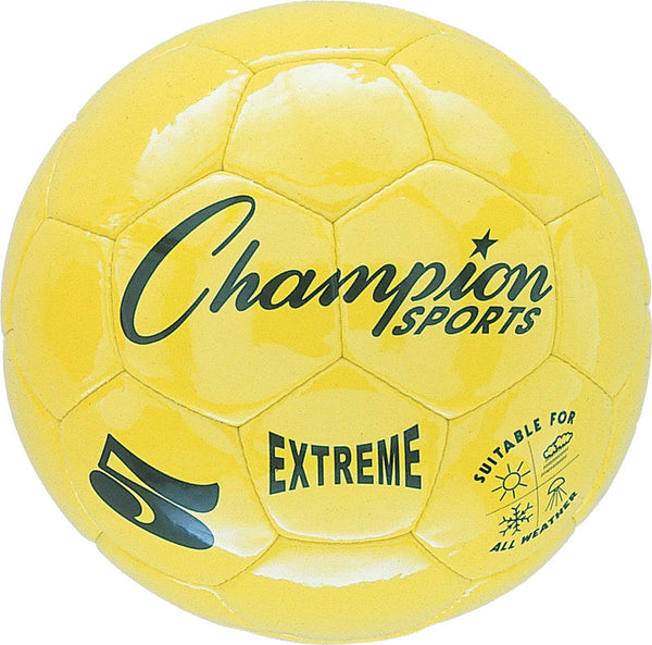Extreme Soccer Ball  Size 5 Yellow