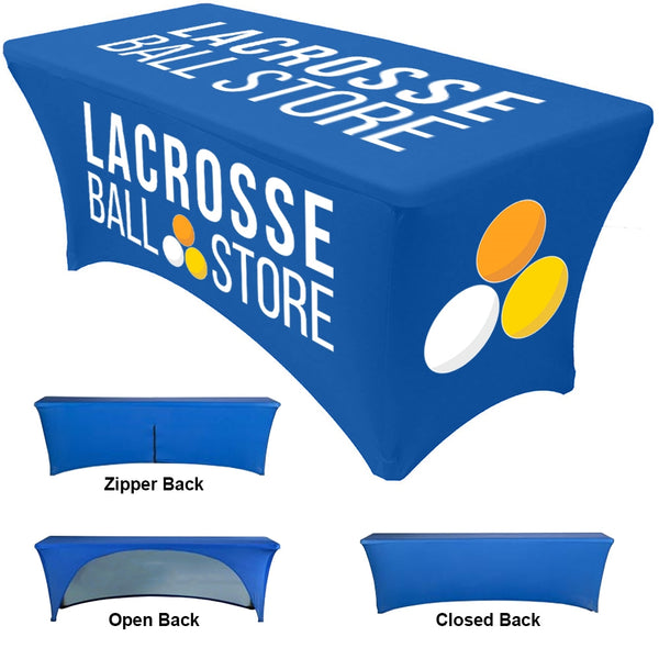 Custom Dye Sublimated Stretch Table Cover