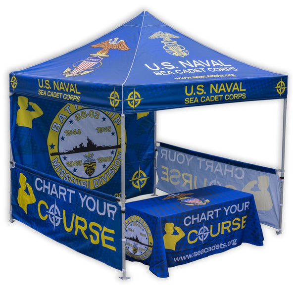 Custom Sublimated Canopy Tent - Aluminum 40 Series 4
