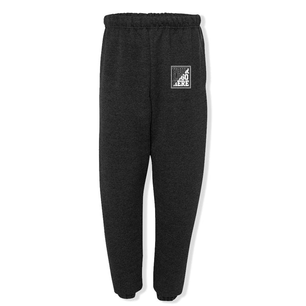 Custom Printed Cinched Bottom Sweats