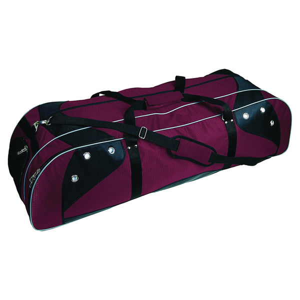 Lacrosse Player Equipment Gear Bag Marron