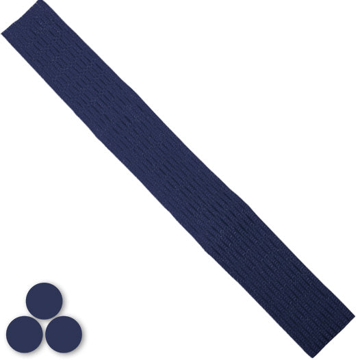 15mm Lacrosse Player Hard Mesh Navy