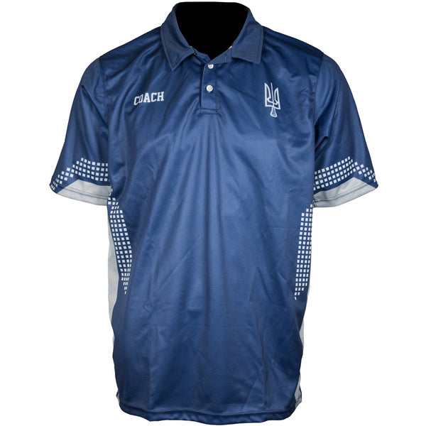 Custom Sublimated Polo Front Coach