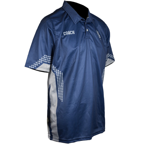 Custom Sublimated Polo Side View Coach