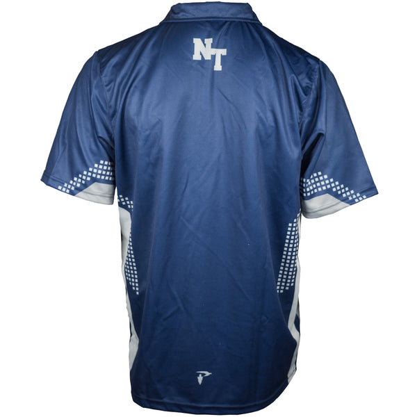 Custom Sublimated Polo Back View NT