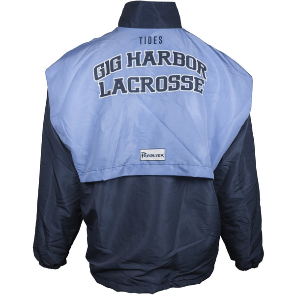 Custom Boater Sublimated Team Jacket Back View
