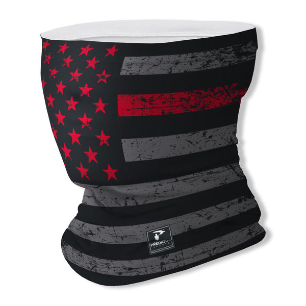 Thin Red Line Gaiter Face Cover
