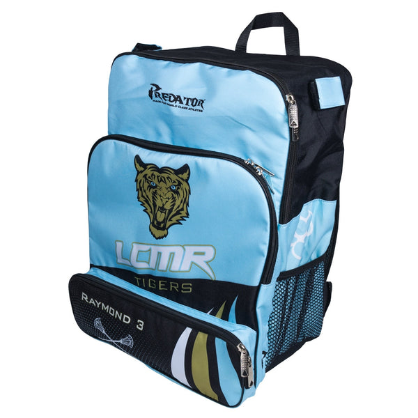 Custom Sublimated Players Backpack front