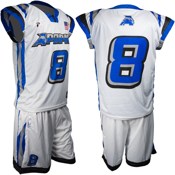 Custom Lacrosse Uniform - Wide Shoulder Cut
