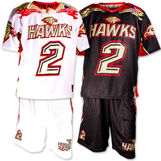 Custom Sublimated High School Lacrosse Uniform