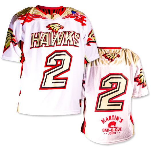 Custom Sublimated High School Lacrosse Uniform Hawks