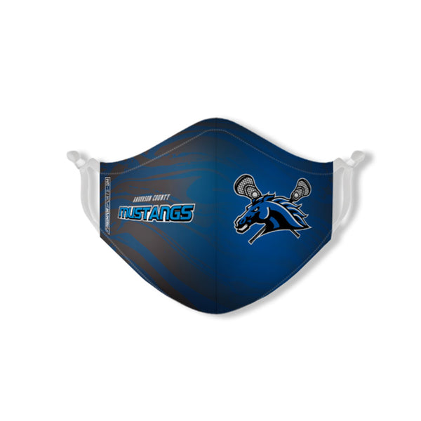 Anderson County Mustangs Face-Mask