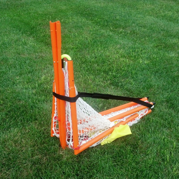 Rage Cage Lacrosse 4x4-V4 Goal Folded with carry Strap