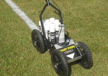 Sharp Stripe Big Wheel All Terrain Athletic Field Striping Machine