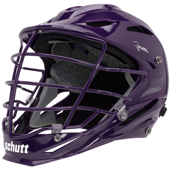 STX Schutt Rival Helmet - Package B Painted Colors purple