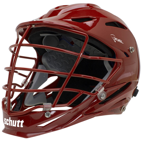 STX Schutt Rival Helmet - Package B Painted Colors red
