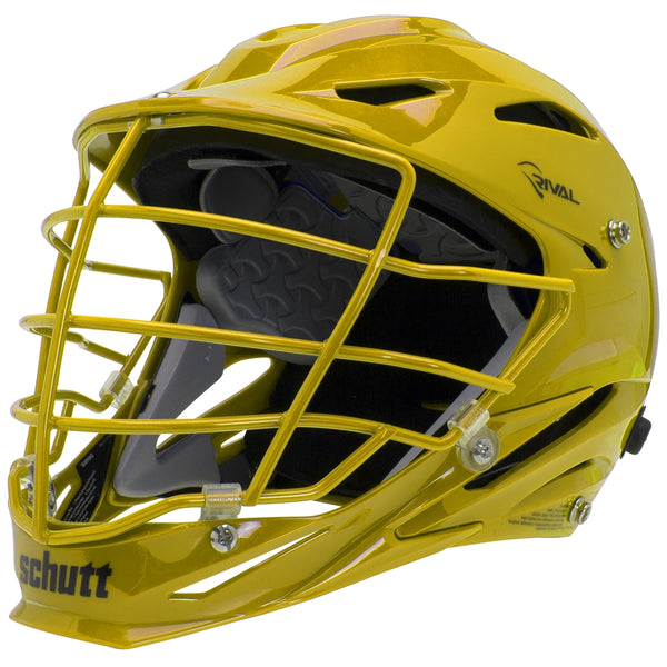 STX Schutt Rival Helmet - Package B Painted Colors yellow