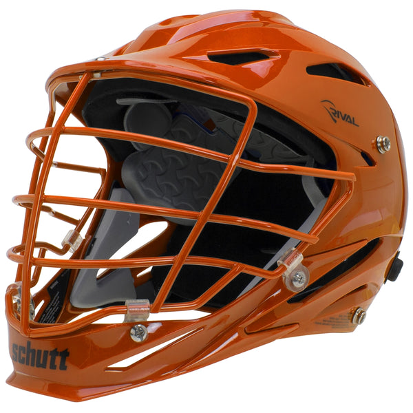 STX Schutt Rival Helmet - Package B Painted Colors orange