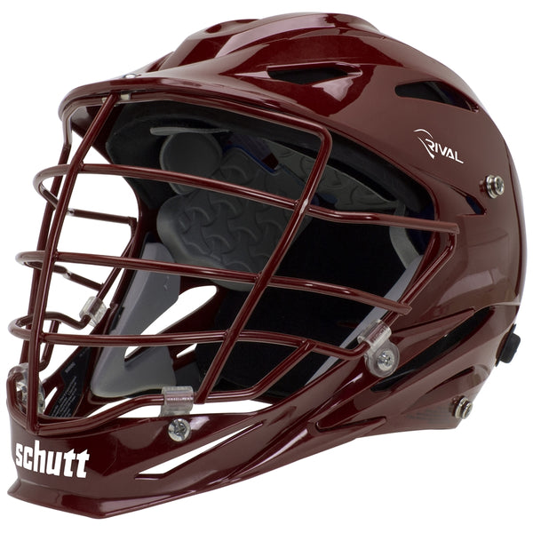 STX Schutt Rival Helmet - Package B Painted Colors maroon
