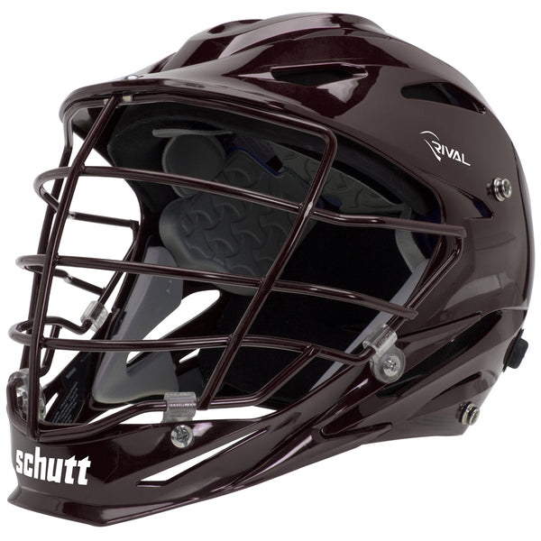 STX Schutt Rival Helmet - Package B Painted Colors brown