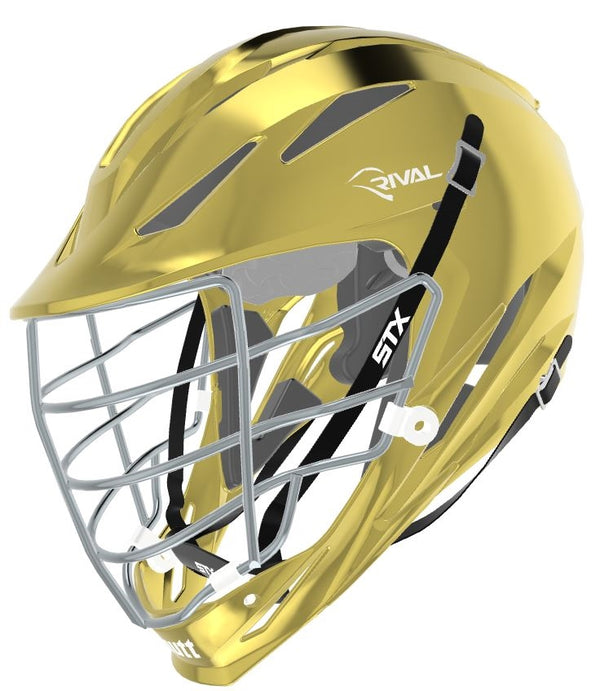 STX Schutt Rival Helmet - Package D2 Chrome go;d