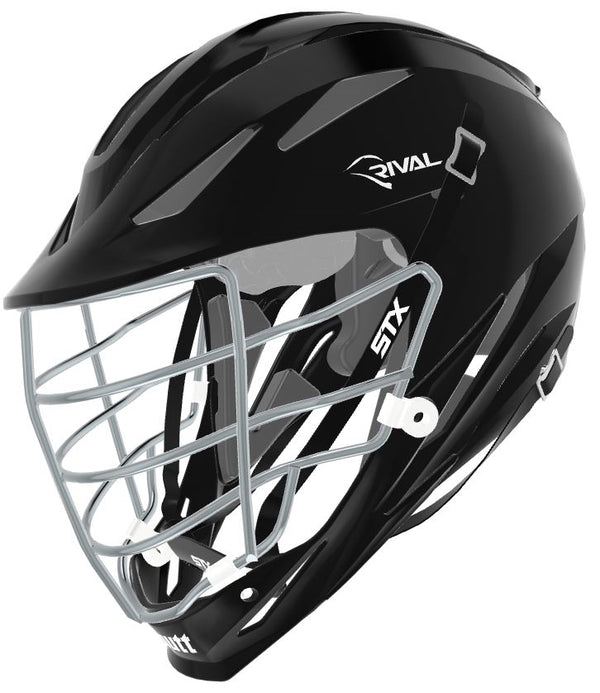STX Schutt Rival Helmet - Package D2 Chrome black