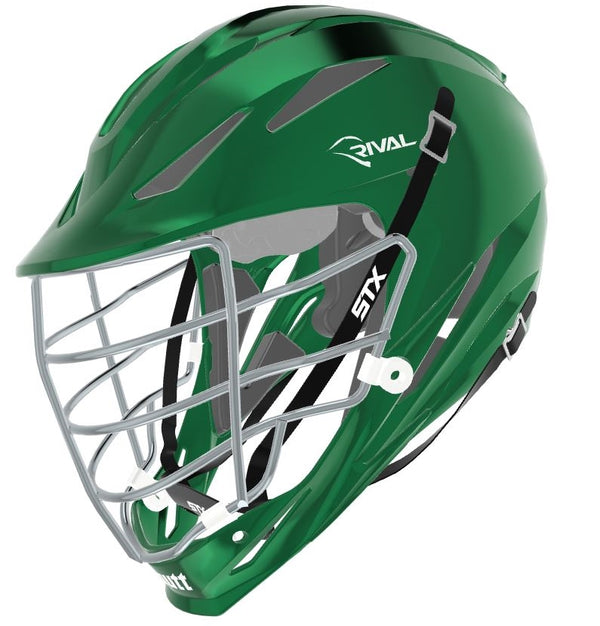 STX Schutt Rival Helmet - Package D2 Chrome green