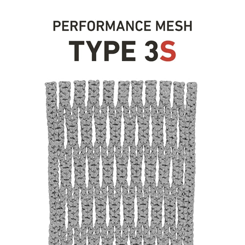 StringKing Performance Lacrosse Mesh Type 3s Silver