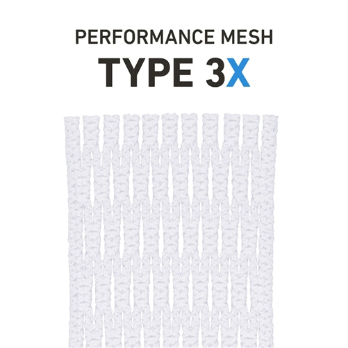 StringKing Performance Lacrosse Mesh Type 3x White