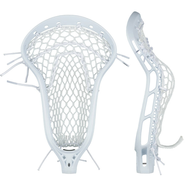 StringKing Womens Mark 2 Defense Strung Lacrosse Head White