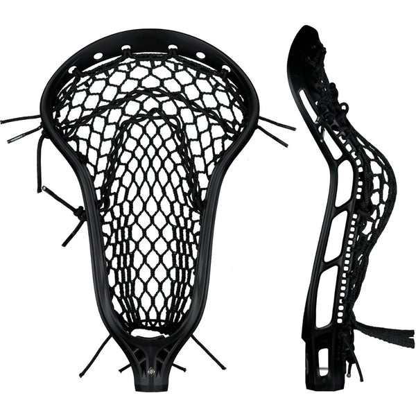 StringKing Womens Mark 2 Defense Strung Lacrosse Head Black