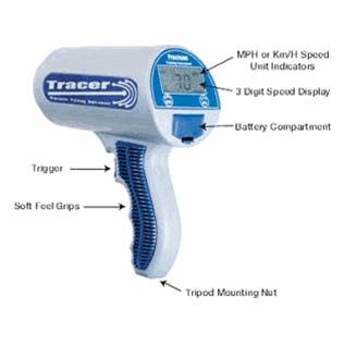 Sports Tracer Radar Gun SRA 3000