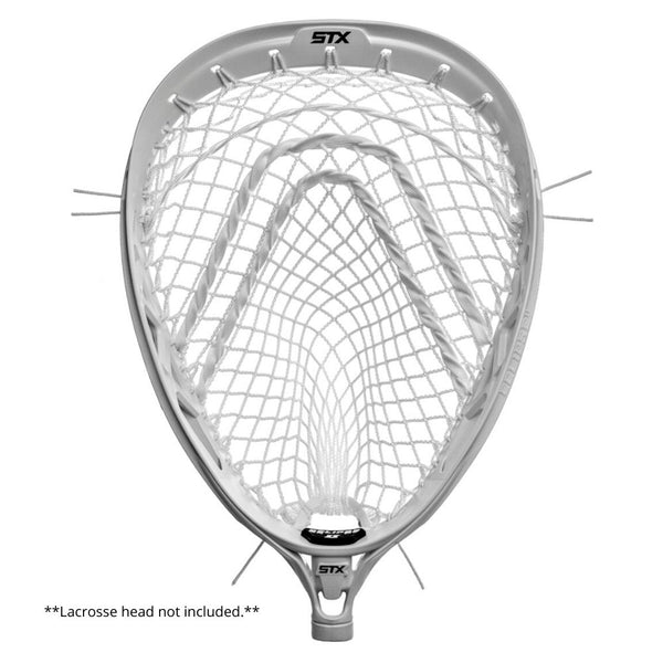 Throne Lacrosse Fiber 2G Goalie Mesh Complete Kit