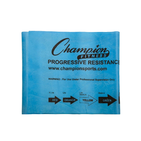 Blue 10 lb Resisitance Band by Champion Sports