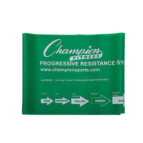 Green 8 lb Resisitance Band by Champion Sports