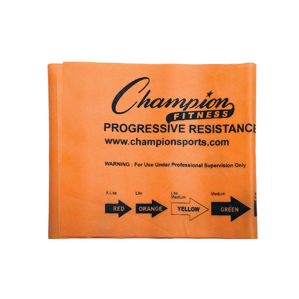 Orange 4.5 lbs Resistance Band by Champion Sports