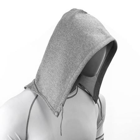 SoHoodie Blank Black Fleece Knit grey