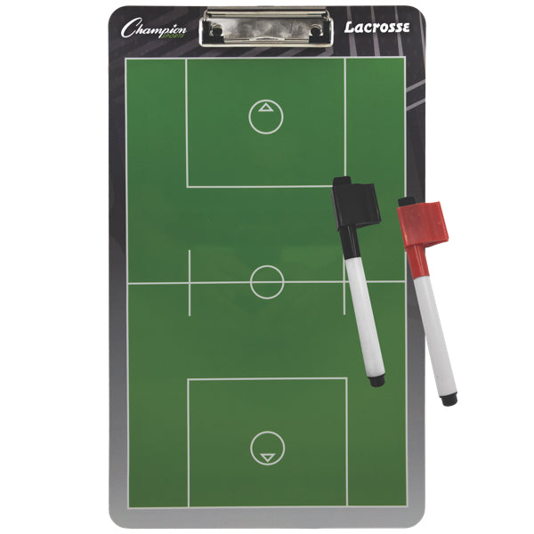 Lacrosse Coaches Board with Dry Erase Marker