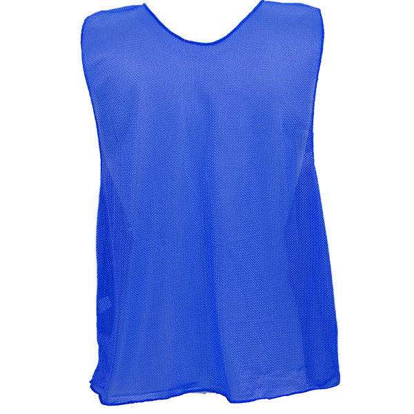Scrimmage Vests Blank Youth Blue