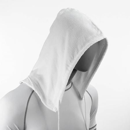 SoHoodie Blank white terry cloth