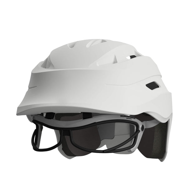 HUMMINGBIRD Women's Lacrosse Headgear V2 White