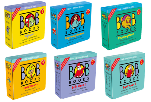 Bob Books Set 6 Boxes (66 Books + 240 Cards)