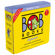 Load image into Gallery viewer, Bob Books English Readers 1 – Alphabet Picture Books (12 books in total) + Digital Edition Set