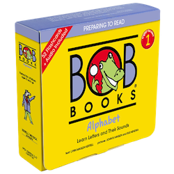 Bob Books English Readers 1 – Alphabet Picture Books (12 books in total) + Digital Edition Set