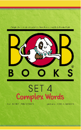 Bob Books English Readers – Complex Words Digital Edition