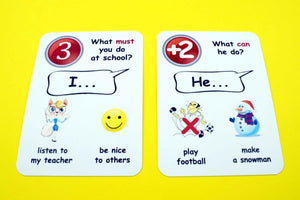 Fun Cards: Modal Verbs
