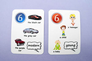Fun Cards: Adjectives, Comparatives and Superlatives